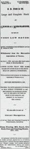 EN Fish sale ad July 28, 1876 Arizona Citizen