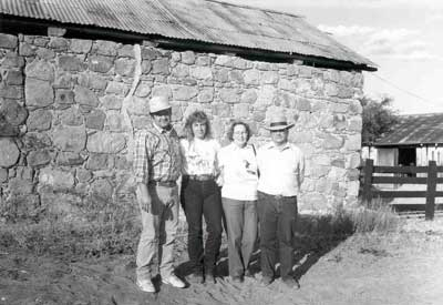 Steve Boice, Sherry Buzzard, Miriam and Bob Boice, 1990