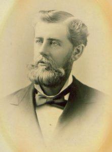 Walter L. Vail, age 30, ca. 1882