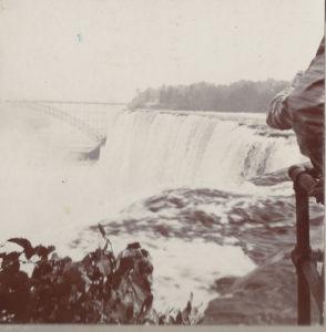 Photo of Niagara Falls taken by Edward (Ned) Vail ca. 1900