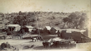 Greaterville about 1898. Greaterville (old placer gold mining c