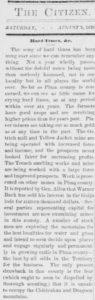 Hard times, 8-5-1876