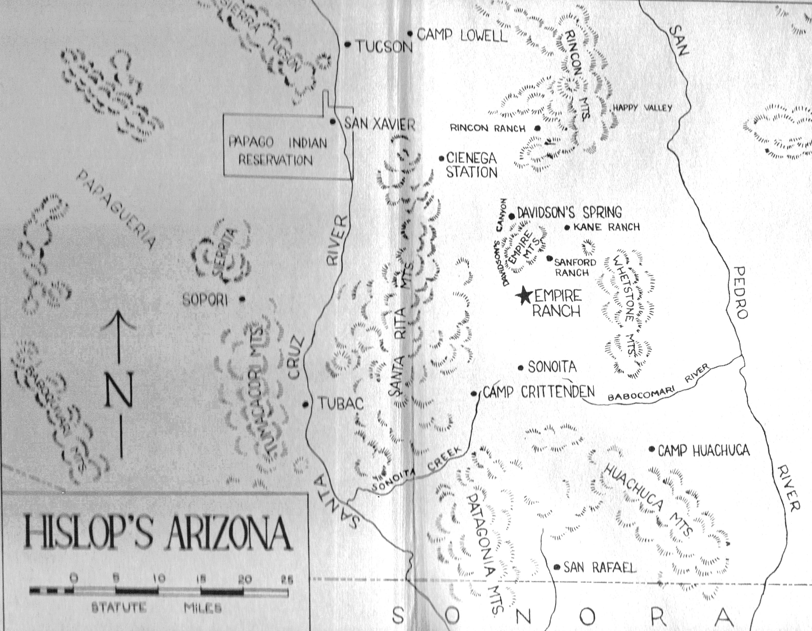 hislops az map original