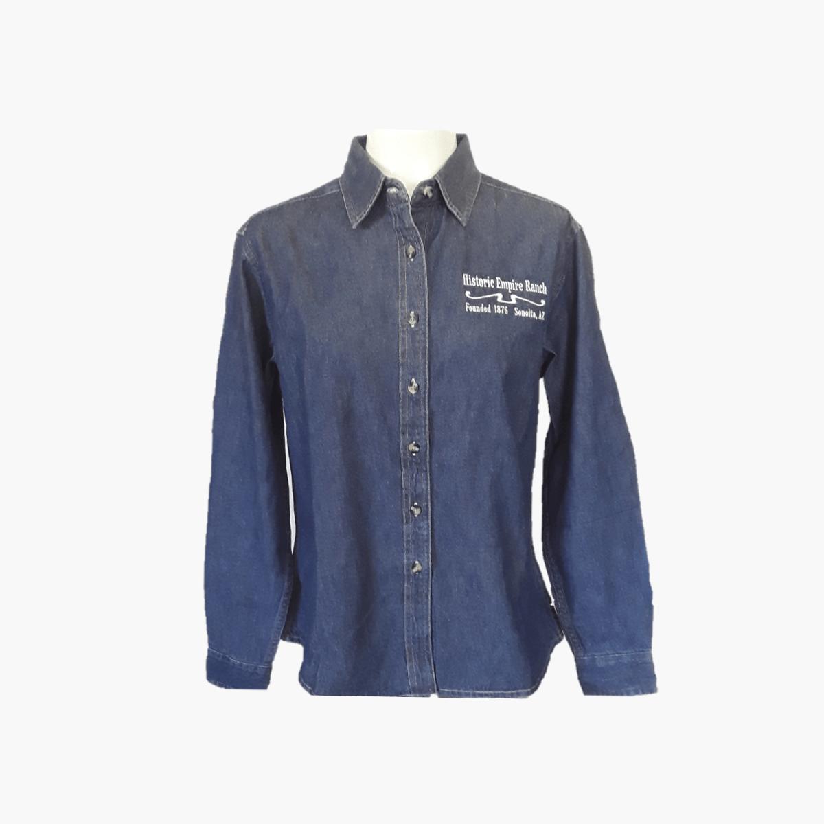 Denim Shirt, Ladies LS